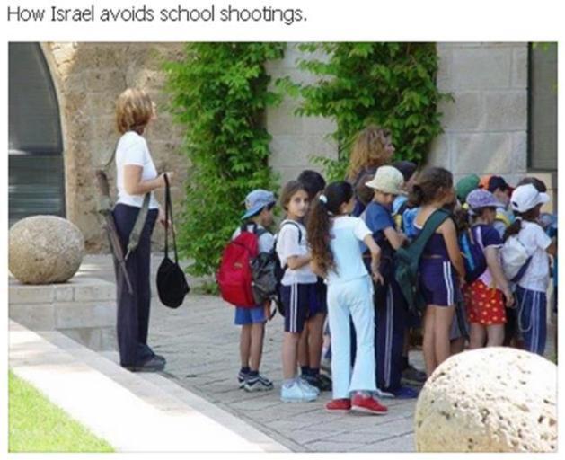 HowIsraelAvoidsSchoolShootings